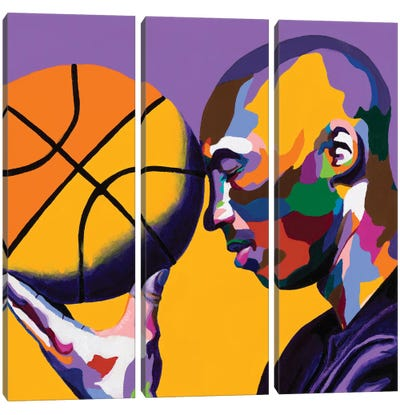 One With The Game Canvas Art Print