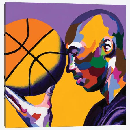 One With The Game Canvas Print #VKS18} by Vakseen Canvas Artwork