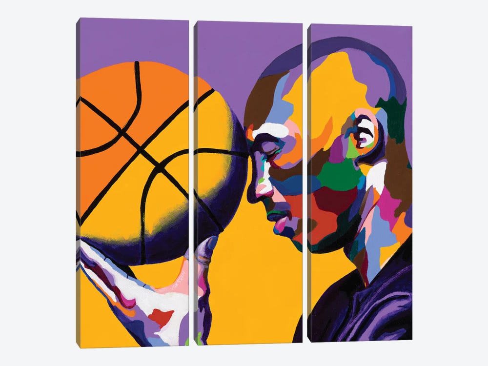 One With The Game by Vakseen 3-piece Canvas Artwork