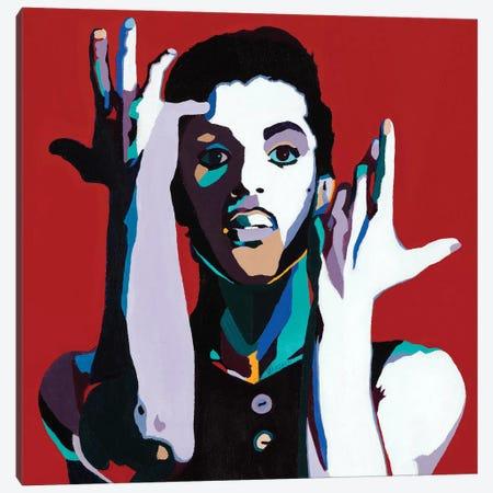 The Cherry Moon Canvas Print #VKS20} by Vakseen Canvas Art Print