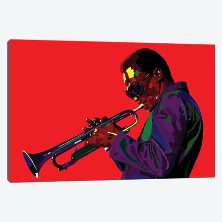 Electric Miles Canvas Print #VKS32} by Vakseen Canvas Artwork