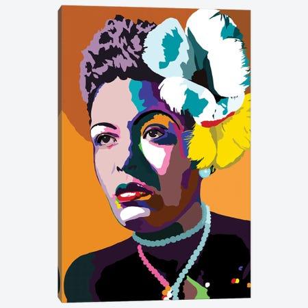 Lady Day Canvas Print #VKS43} by Vakseen Canvas Art Print