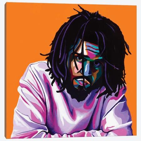 Cole World Canvas Print #VKS5} by Vakseen Canvas Art