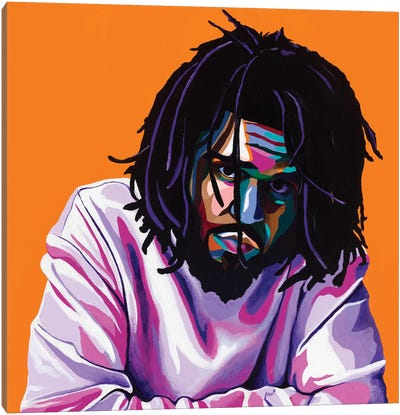Cole World Canvas Art Print