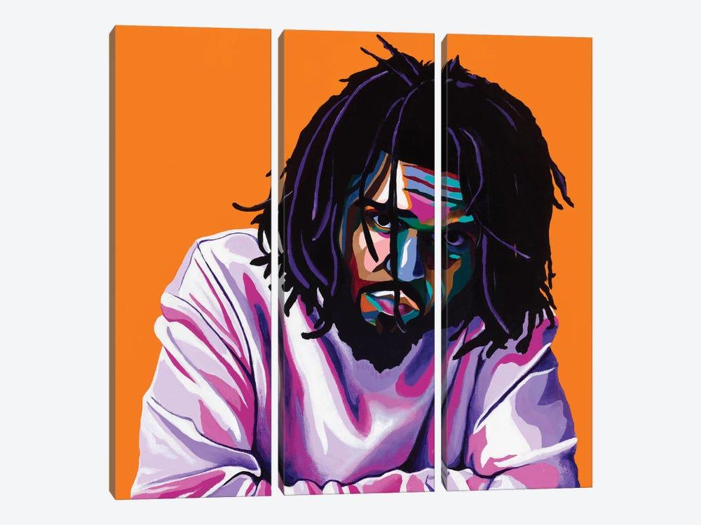 Cole World by Vakseen 3-piece Canvas Artwork