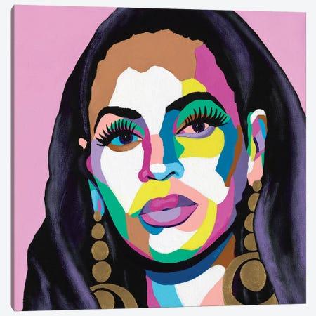 Hail The Queen Canvas Print #VKS8} by Vakseen Canvas Art Print