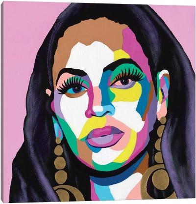 Hail The Queen Canvas Art Print