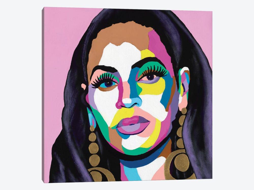 Hail The Queen by Vakseen 1-piece Canvas Art Print