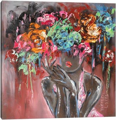 Little Secret Of Her Tenderness Canvas Art Print