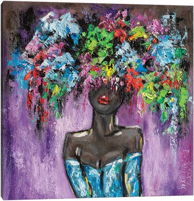 Moonlight Seduction Canvas Art Print