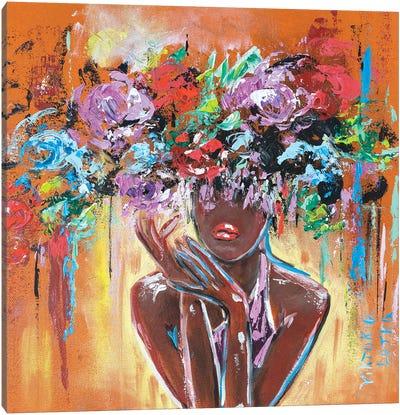In Tropical Paradise Canvas Art Print