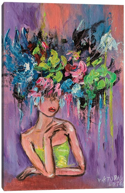 Brooding Virginity Canvas Art Print