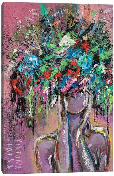 Diana's Purple Mist Canvas Art Print