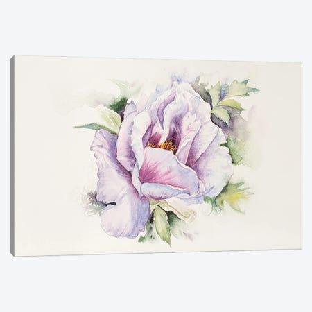 Noble Peony Canvas Print #VLC54} by Valeria Luchistaya Canvas Art