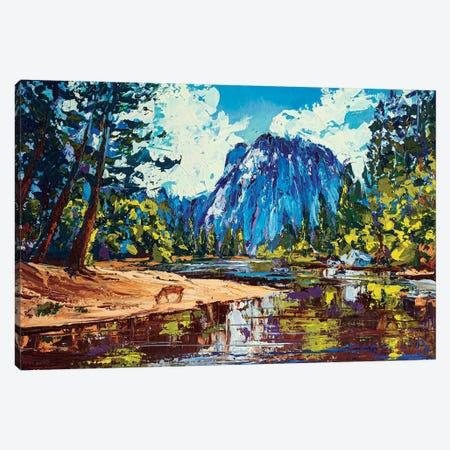 Yosemite National Park Canvas Print #VLC7} by Valeria Luchistaya Canvas Wall Art