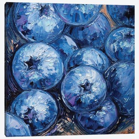 Blueberry Canvas Print #VLK42} by Vlada Koval Canvas Artwork