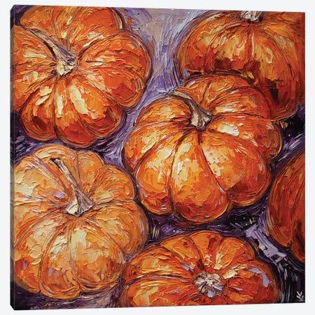 Pumpkin Canvas Print #VLK43} by Vlada Koval Canvas Artwork