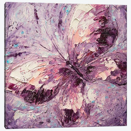 Butterfly And Dream Canvas Print #VLK52} by Vlada Koval Canvas Print