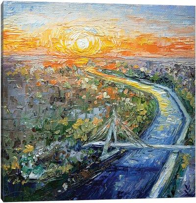 Tyumen City Canvas Art Print