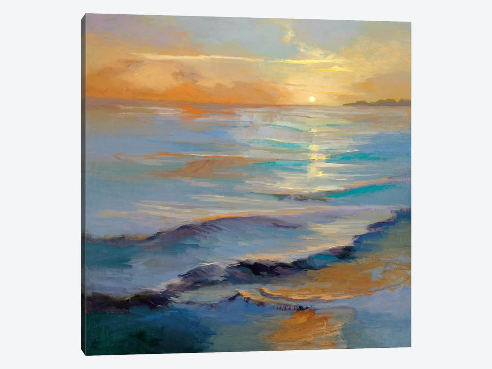 Ocean Overture by Vicki McMurry 1-piece Canvas Artwork