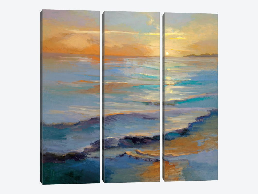 Ocean Overture by Vicki McMurry 3-piece Canvas Art