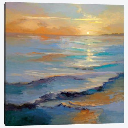 Ocean Overture Canvas Print #VMC1} by Vicki McMurry Canvas Art