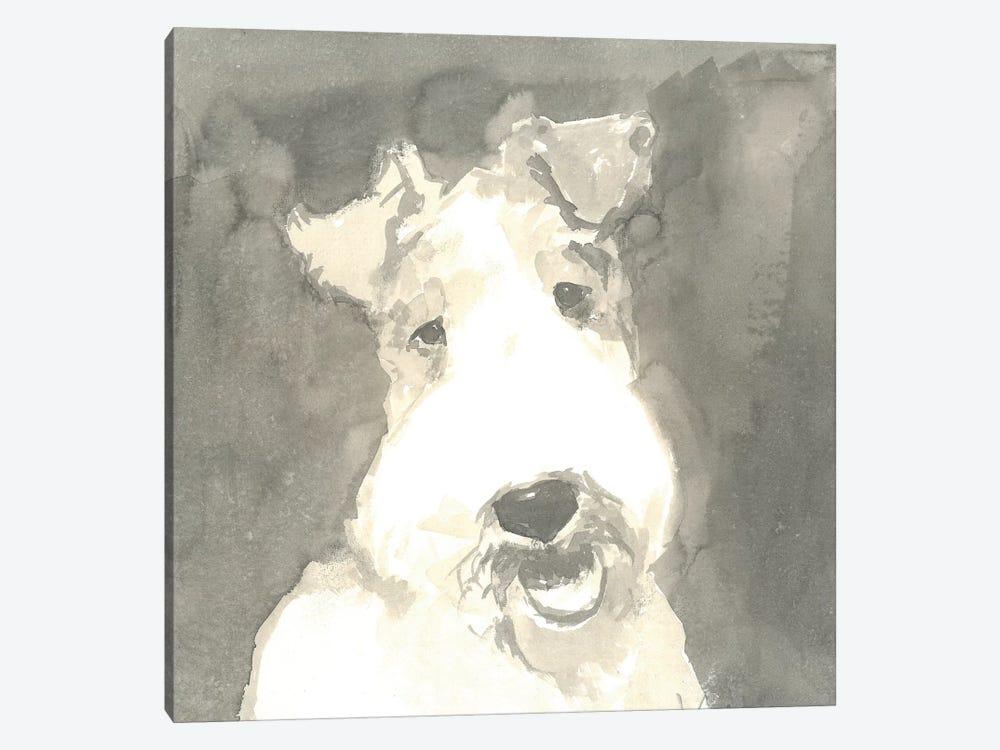 Sepia Modern Dog VI by A Very Modern Dog 1-piece Canvas Art