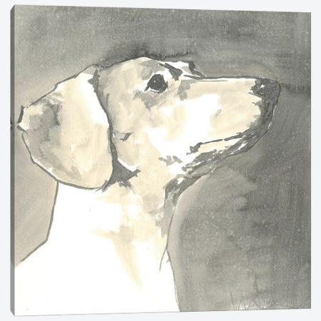 Sepia Modern Dog IV Canvas Print #VMD9} by A Very Modern Dog Art Print
