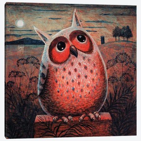 Owl Canvas Print #VMN100} by Vicky Mount Canvas Artwork