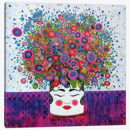 Pot Head Canvas Print #VMN103} by Vicky Mount Canvas Artwork