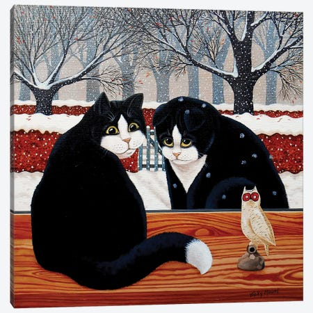 Prodigal Cat Canvas Print #VMN106} by Vicky Mount Canvas Art Print