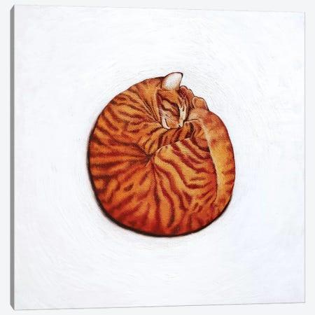 Round Peg Canvas Print #VMN113} by Vicky Mount Canvas Art Print