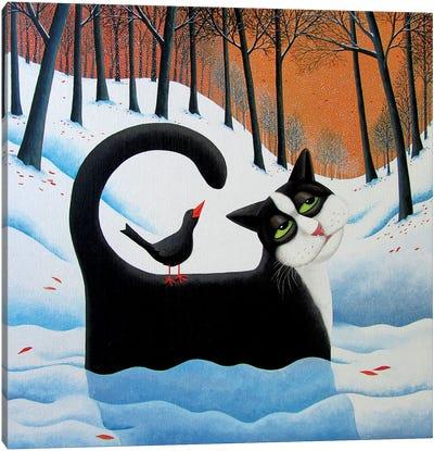 Snow Drifter Canvas Art Print
