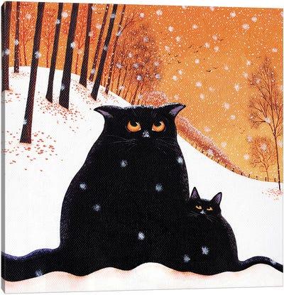 Snowflakes Canvas Art Print