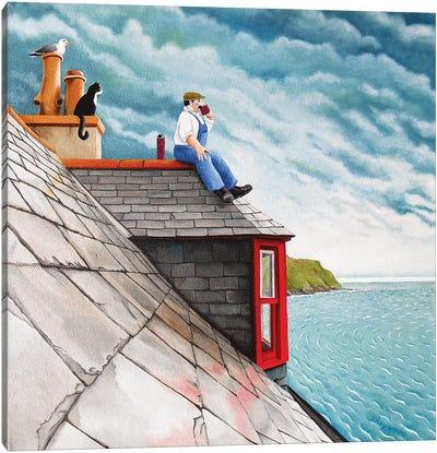 Tea Break Canvas Art Print