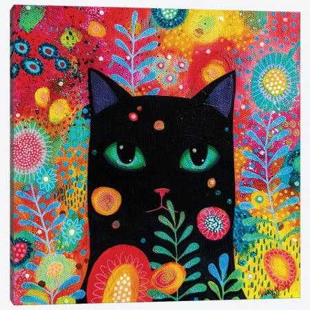 Catnip Dreamer Canvas Print #VMN155} by Vicky Mount Canvas Art