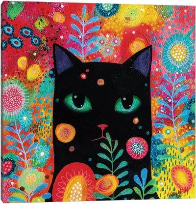 Catnip Dreamer Canvas Art Print