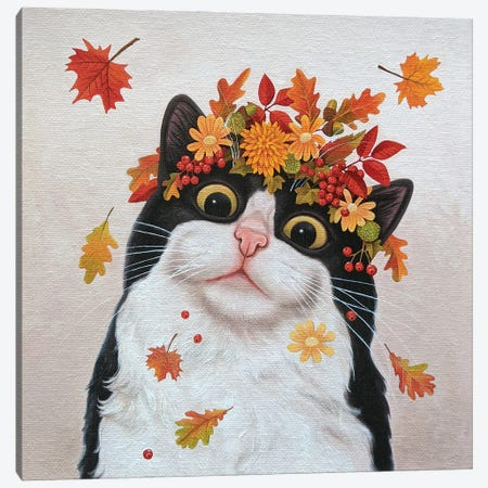 Autumn Canvas Print #VMN157} by Vicky Mount Canvas Art