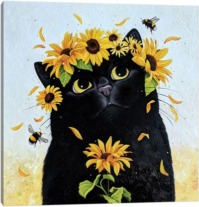 Summer Buzz Canvas Art Print