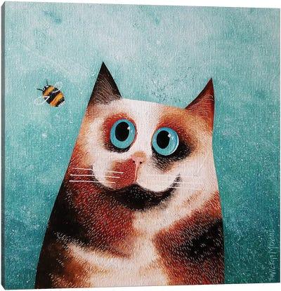 Bebe And Bee Canvas Art Print