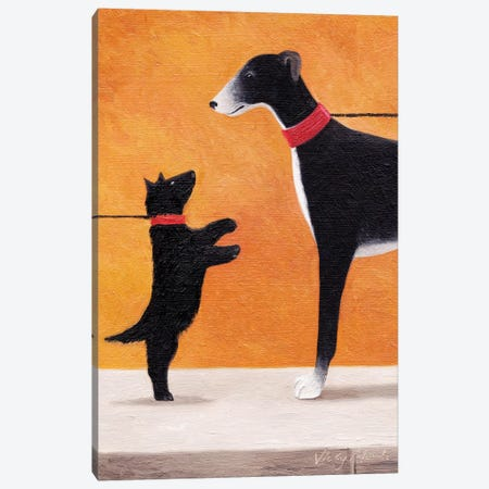 Big Hound Canvas Print #VMN19} by Vicky Mount Canvas Art Print