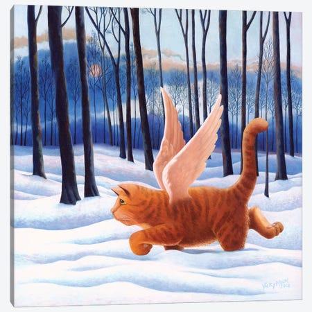 10th Life Canvas Print #VMN1} by Vicky Mount Art Print