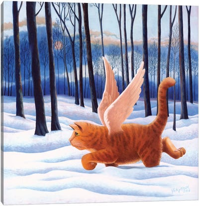 10th Life Canvas Art Print