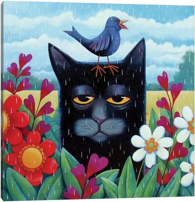 Blue Summer Canvas Art Print