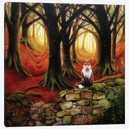Cinnabar Wood Canvas Print #VMN31} by Vicky Mount Canvas Art Print