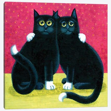 Eric & Ernie 3-Piece Canvas #VMN46} by Vicky Mount Canvas Print