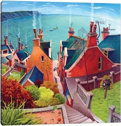 Gardenstown Canvas Art Print