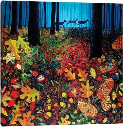 Into The Woods Canvas Art Print