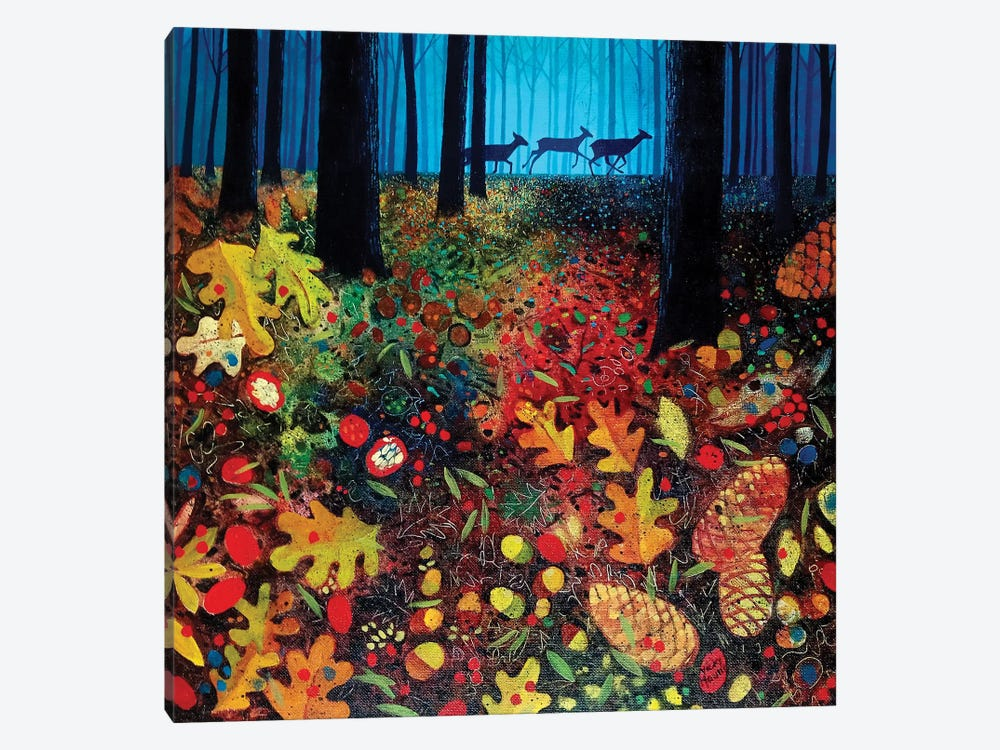 Into The Woods by Vicky Mount 1-piece Canvas Wall Art