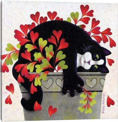 Love Pot Canvas Art Print